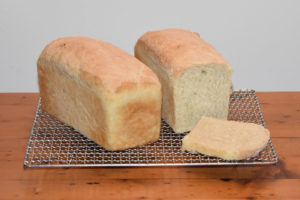Deliciously simple home baked bread